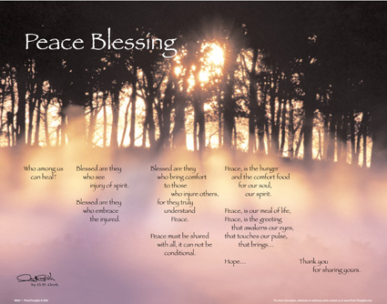 Peace Blessing