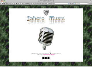 Jahero Music Cos. artist's web site.